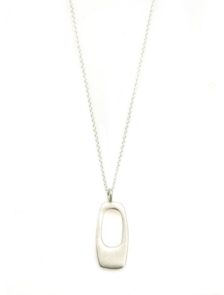 Small Rectangular Necklace