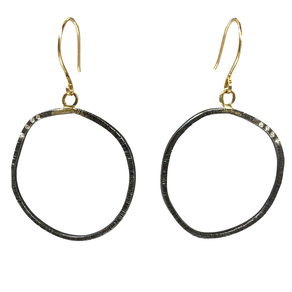 Turning Aspen Hoop Earrings