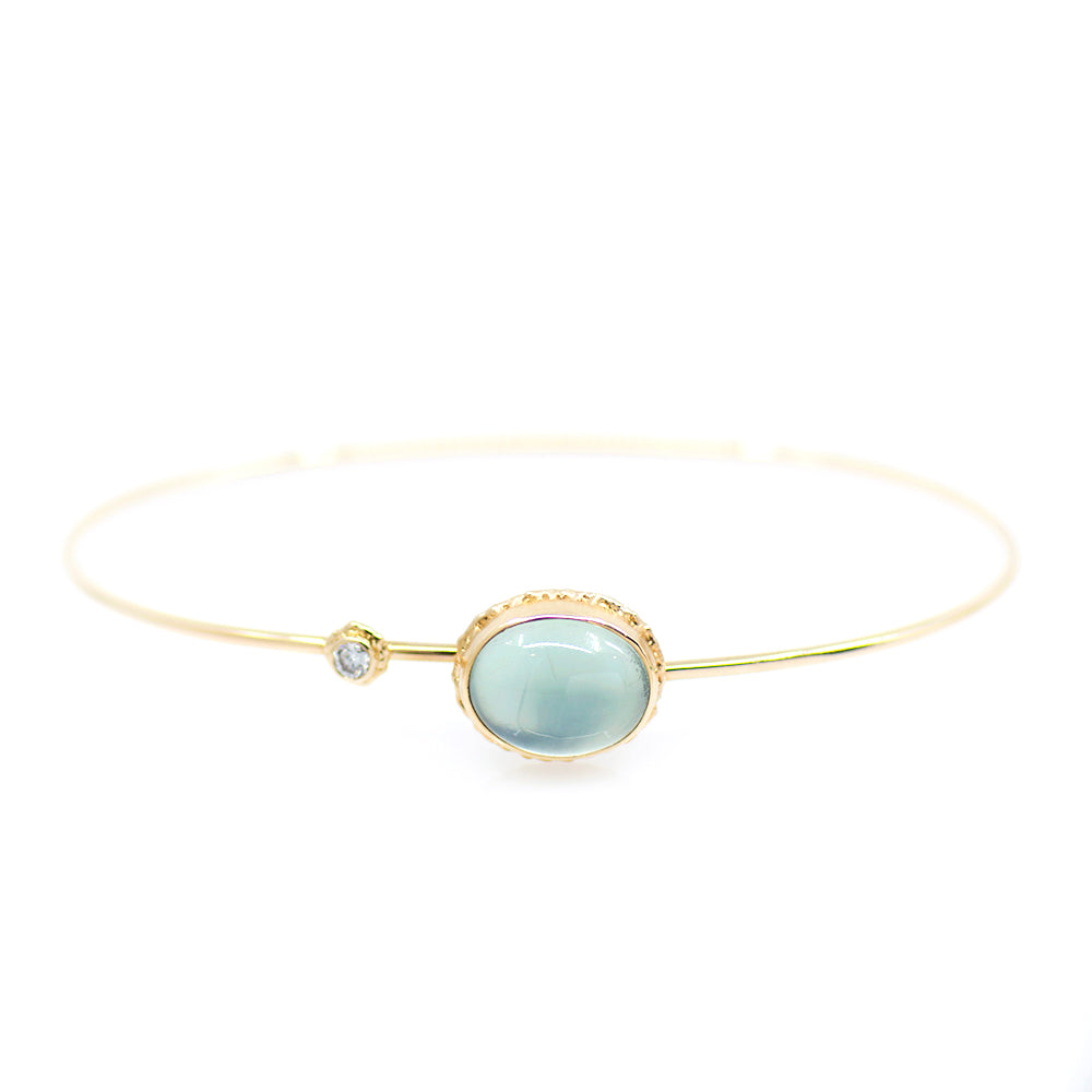 Load image into Gallery viewer, Prehnite Bracelet