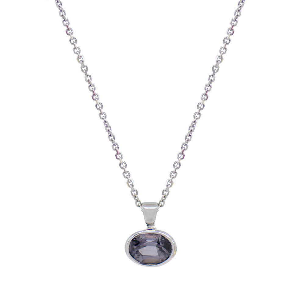 Load image into Gallery viewer, Bezel Set Spinel Necklace