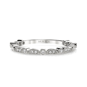 Half Moon Alternating Stack Band
