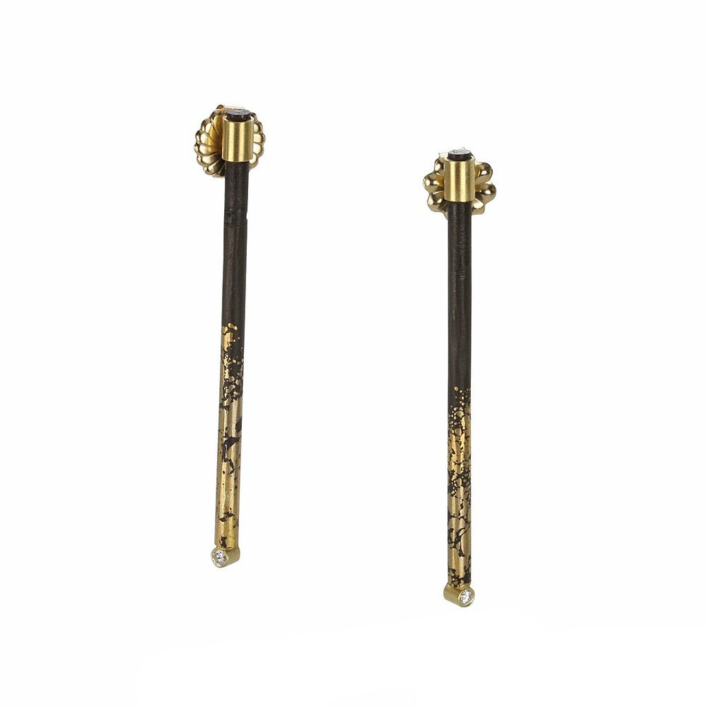 Iron Stick Earrings