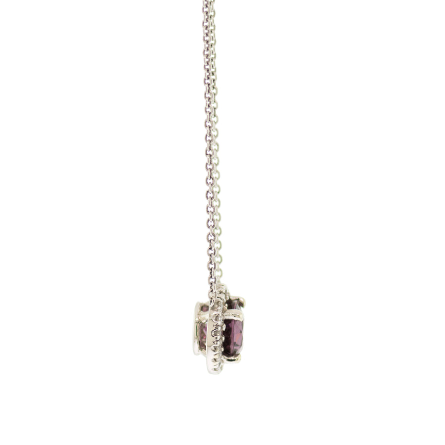 Purple Spinel Necklace