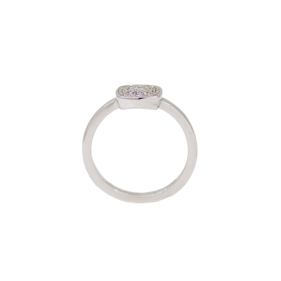 Cushion Pave Ring