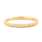 Gold Wavy Stardust Band