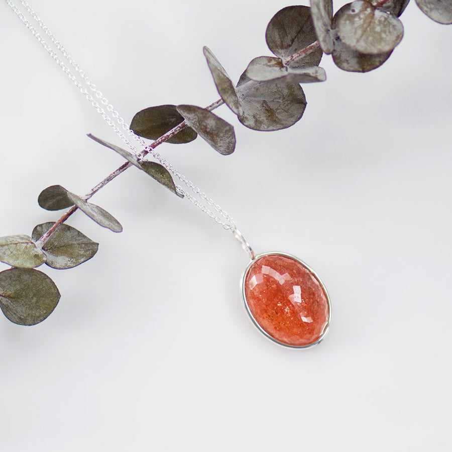 Sunstone Necklace