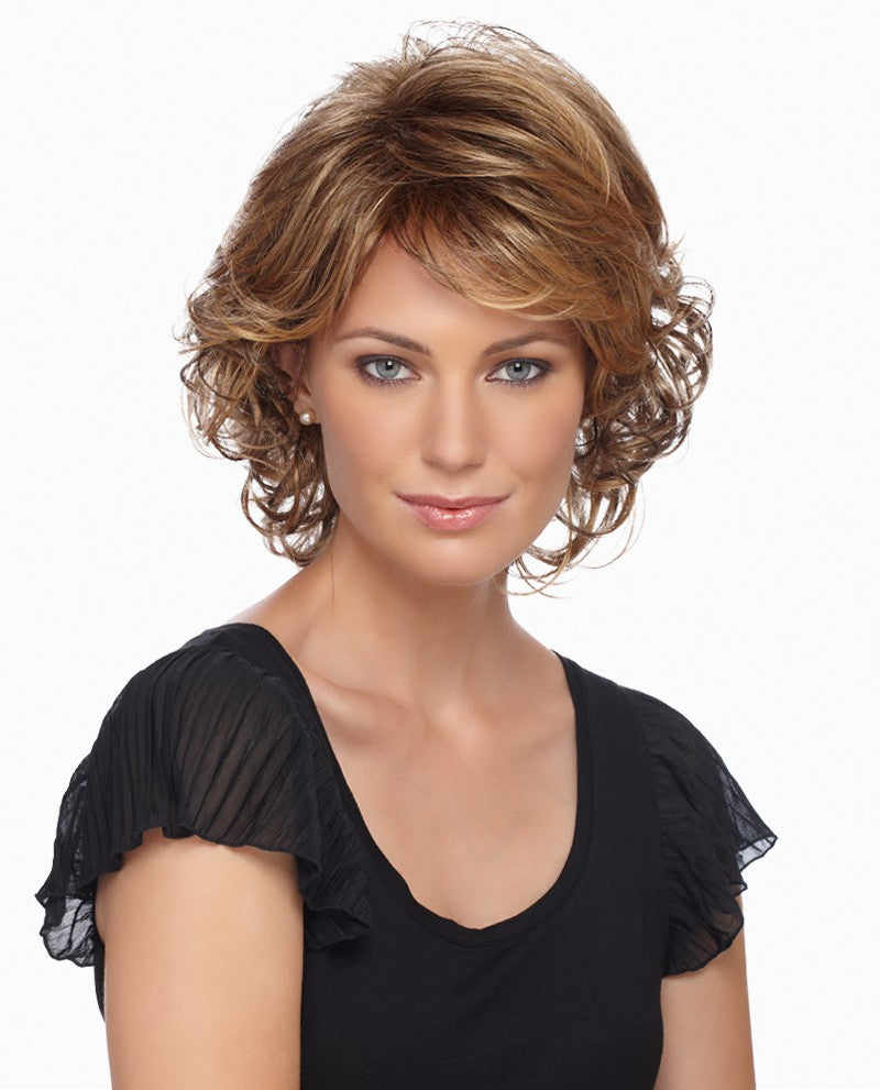 Colleen Wig | Medium Length Layered Style with Spiral Curls