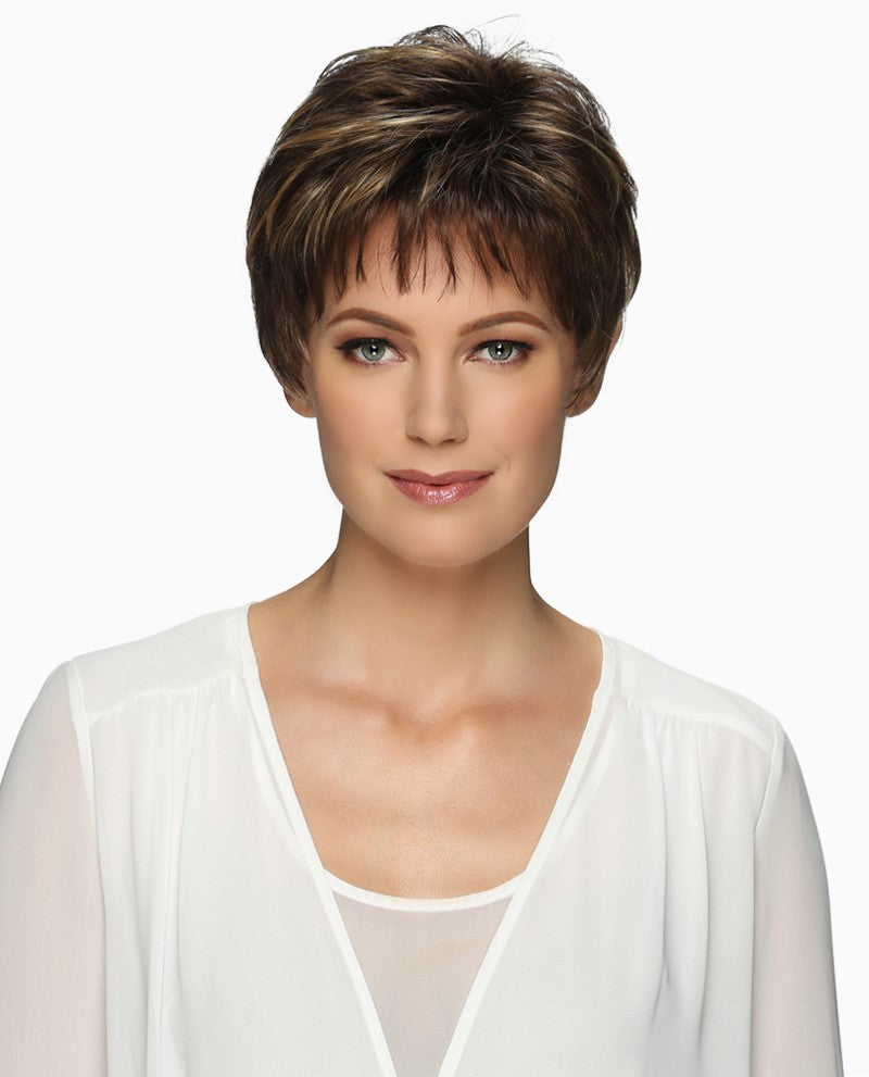 Cheri Wig | Short Pixie Style with Soft Wispy Volume & Tapered Nape