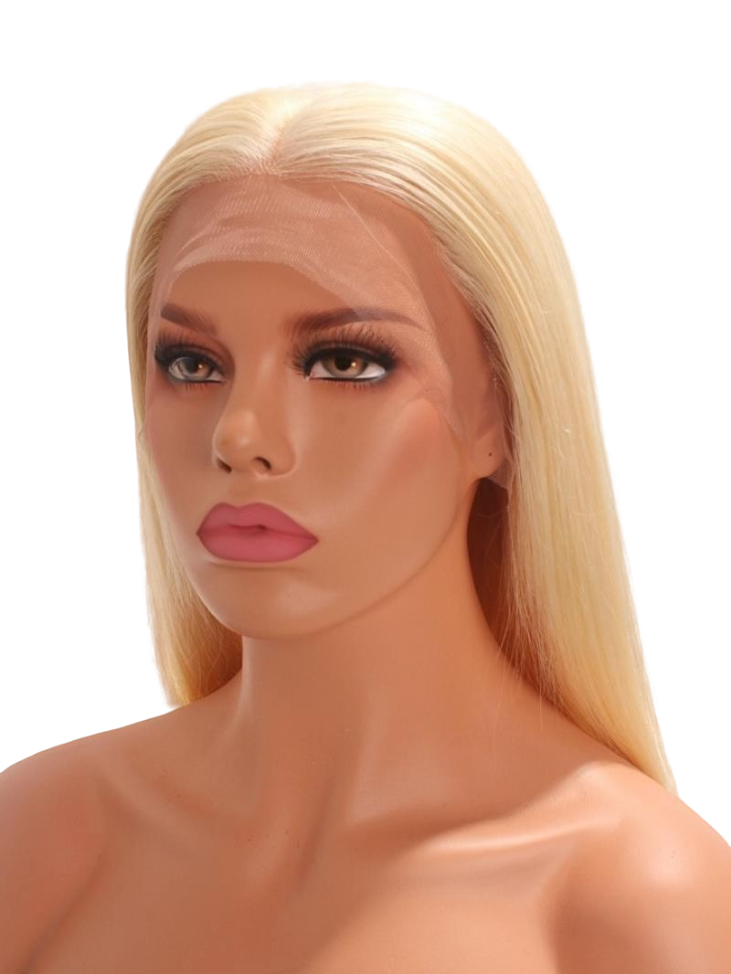 Goldie | 13 X 4 Frontal Transparent Lace 613 Human Hair Wig