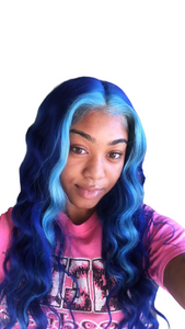 custom colored 613 wigs