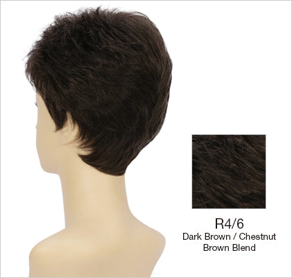 Petite Kate Wig |  Layered Boy Cut with Volumizing Waves & Tapered Nape