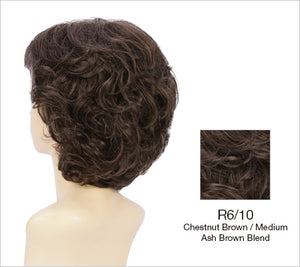 Jones Wig | Choppy Layered Style with Texturized Waves & Wispy Fringe