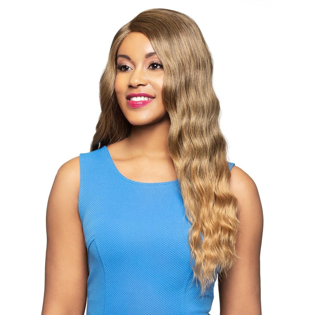 Shala - Foxy Lady J Part Lace Front Synthetic Wig - African American Wigs