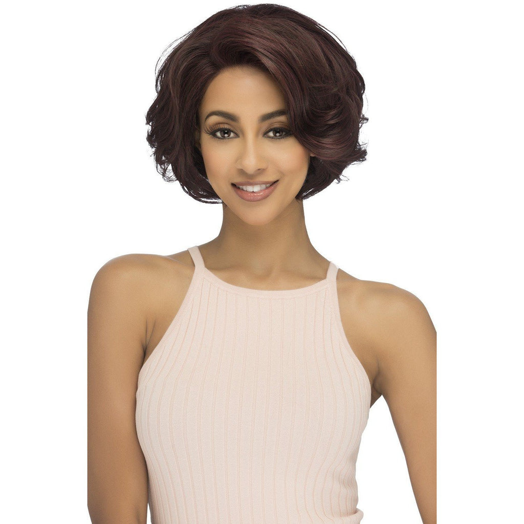 CARLY Synthetic Layered Flipped Out Wrap Style Wig - Vivica Fox - African American Wigs