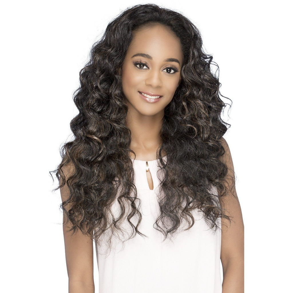 FHW-ALINA Synthetic  Layered Loose Deep Wave Wig - Vivica Fox - African American Wigs