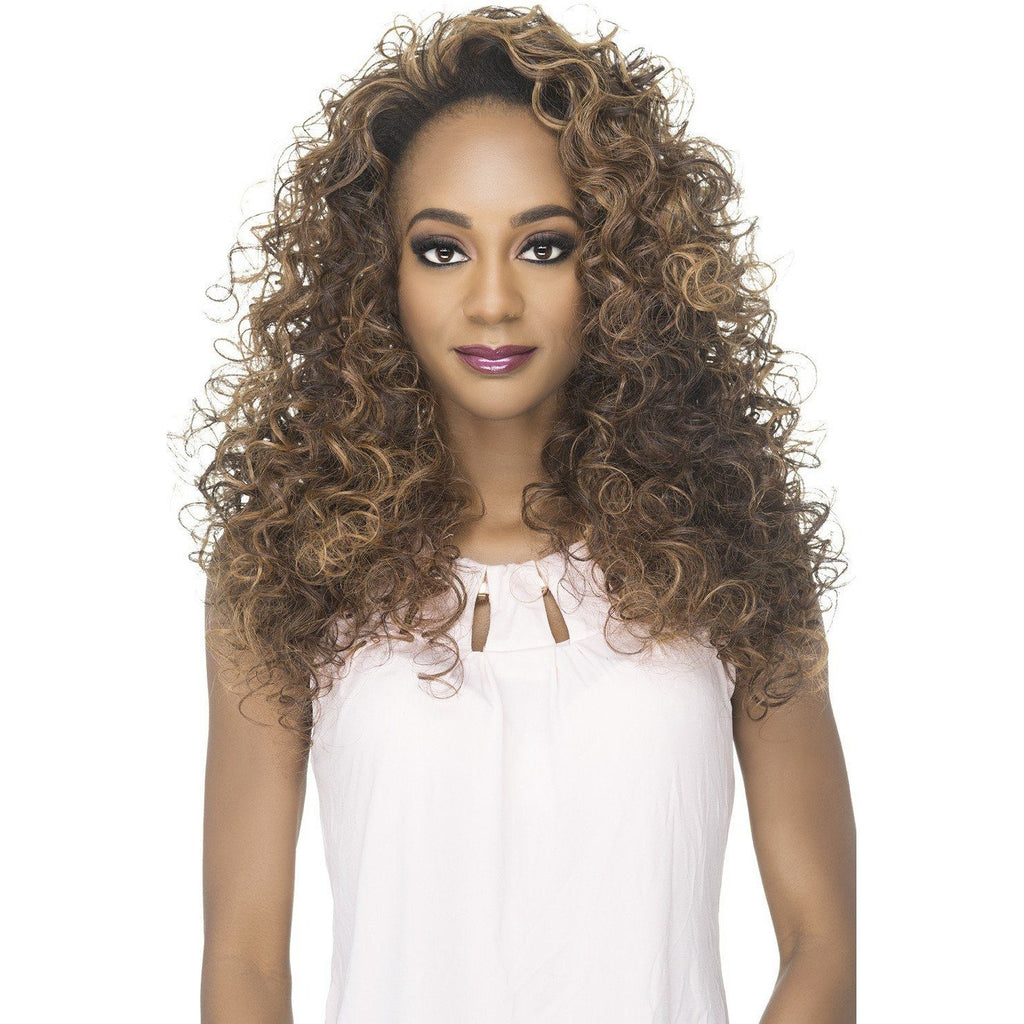 FHW-LEO Synthetic Layered Jumbo Roller Set Wig - Vivica Fox - African American Wigs