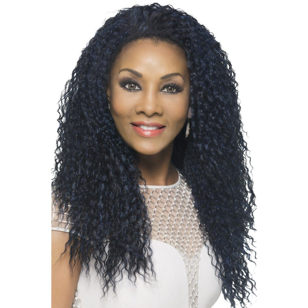 FHW-MEENA | 3/4 Synthetic Heat Resistant Fiber Wig (Traditional Cap) - African American Wigs