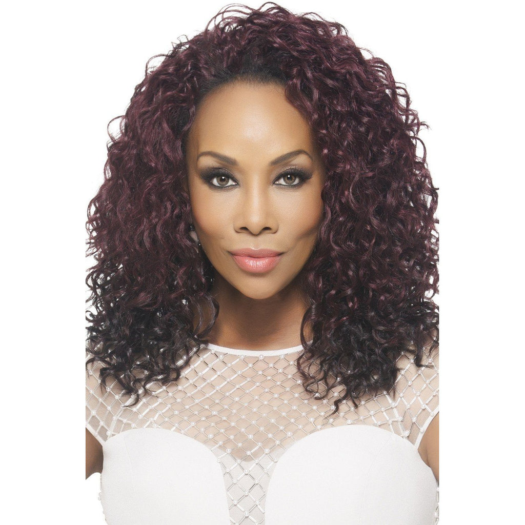 FHW-YANEI Synthetic Loose Layered Water Wave Wig - Vivica Fox - African American Wigs