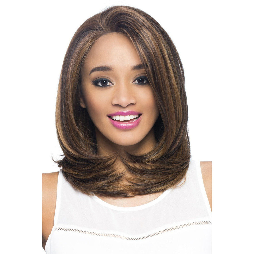 LUZ  Synthetic Layered Wrap Style  Wig - Vivica Fox - African American Wigs