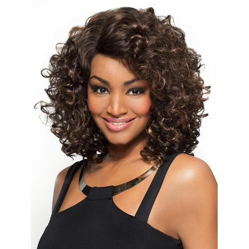 MARCELLA - Foxy Lady Synthetic Wig in Color #1B - African American Wigs