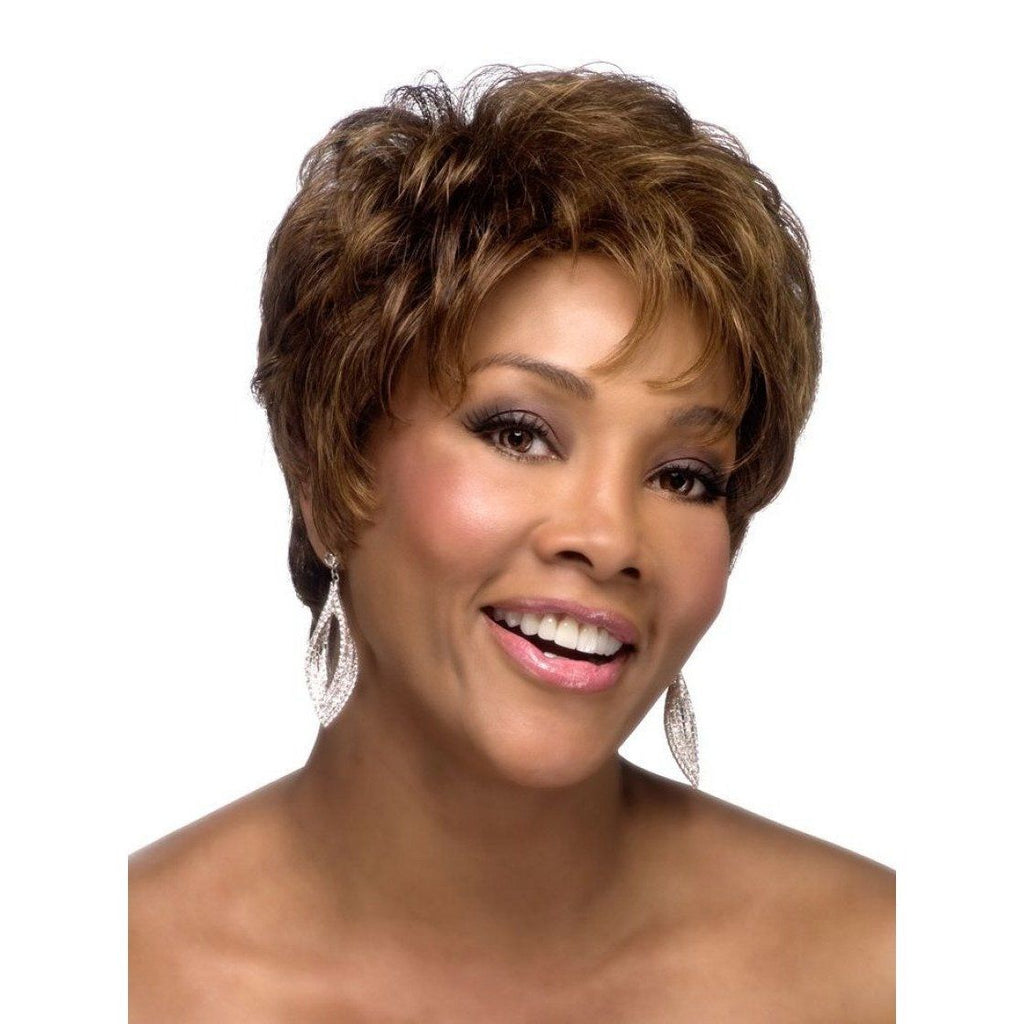 H223 - Vivica Fox Synthetic Wig in Color #FS1B/30 - African American Wigs