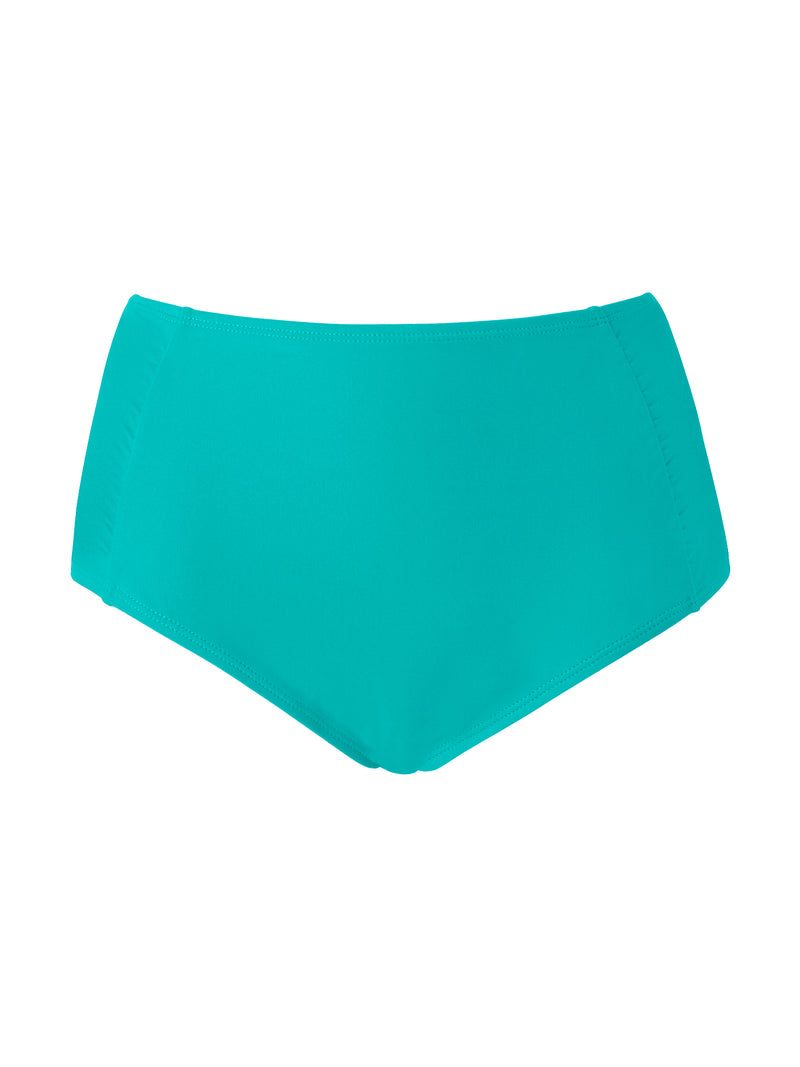 High Waist Brief - Teal