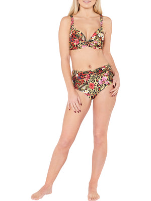 High Waist Brief - Tropical