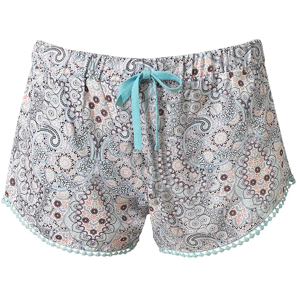 Beach Shorts / Sleep Shorts - Blue/Coral