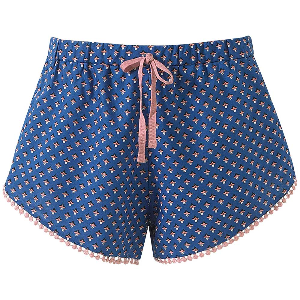 Beach Shorts / Sleep Shorts - Cobalt