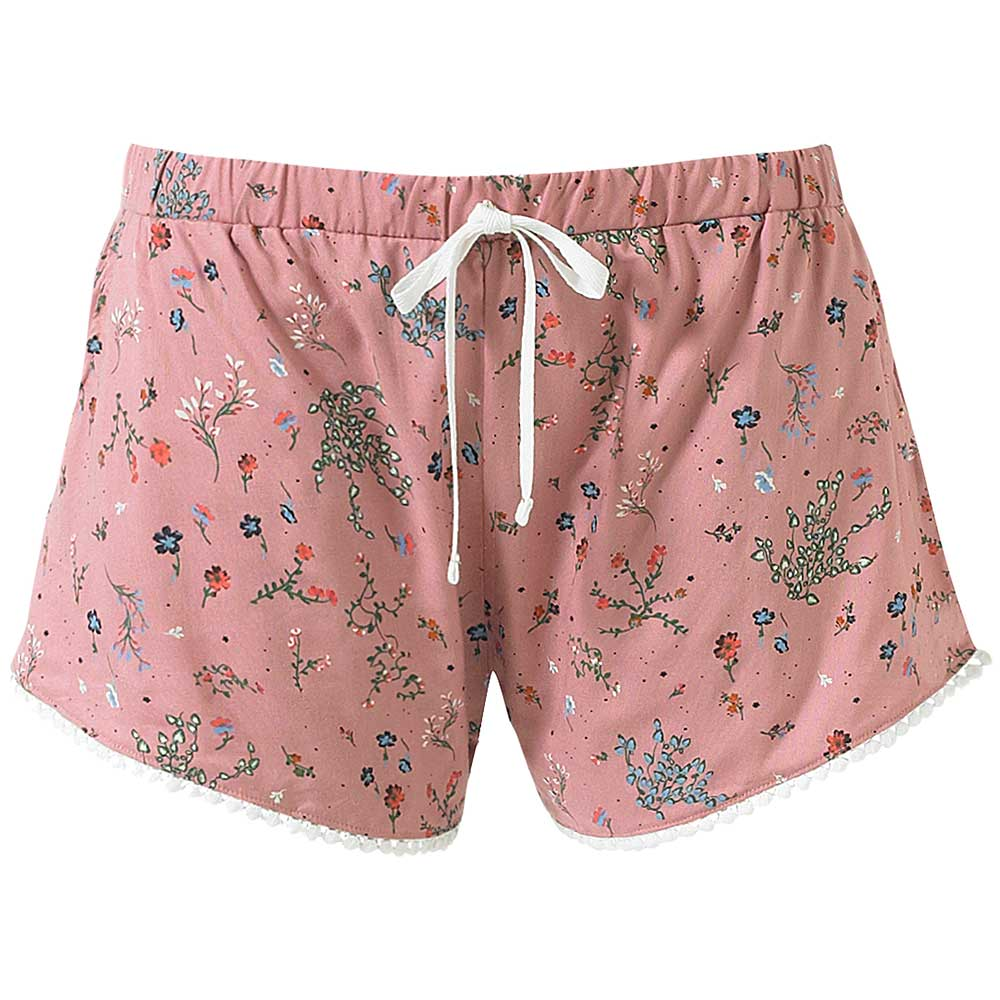 Beach Shorts / Sleep Shorts - Pale Pink