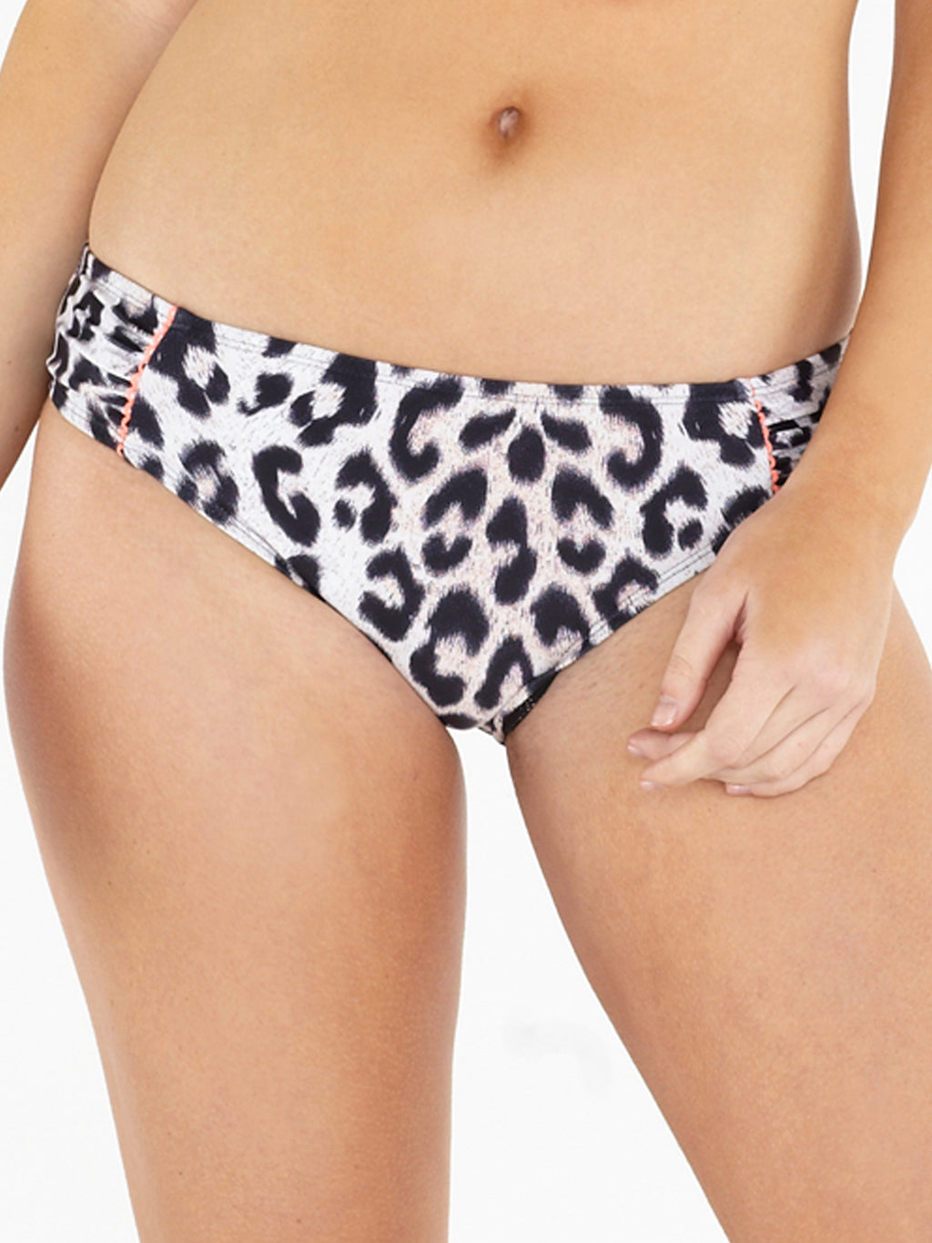 High Leg Brief - Leopard