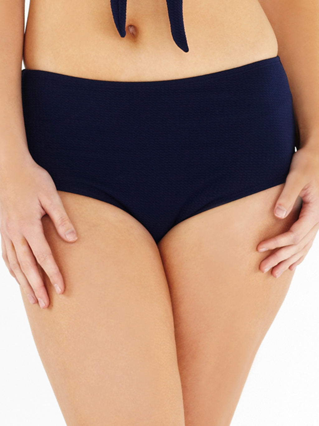 High Waist Brief - Navy