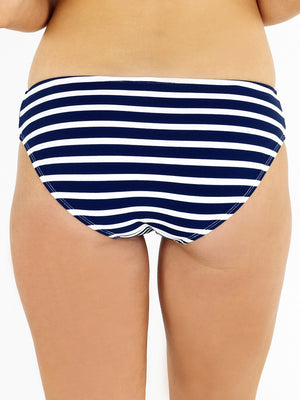 High Leg Brief - Stripe
