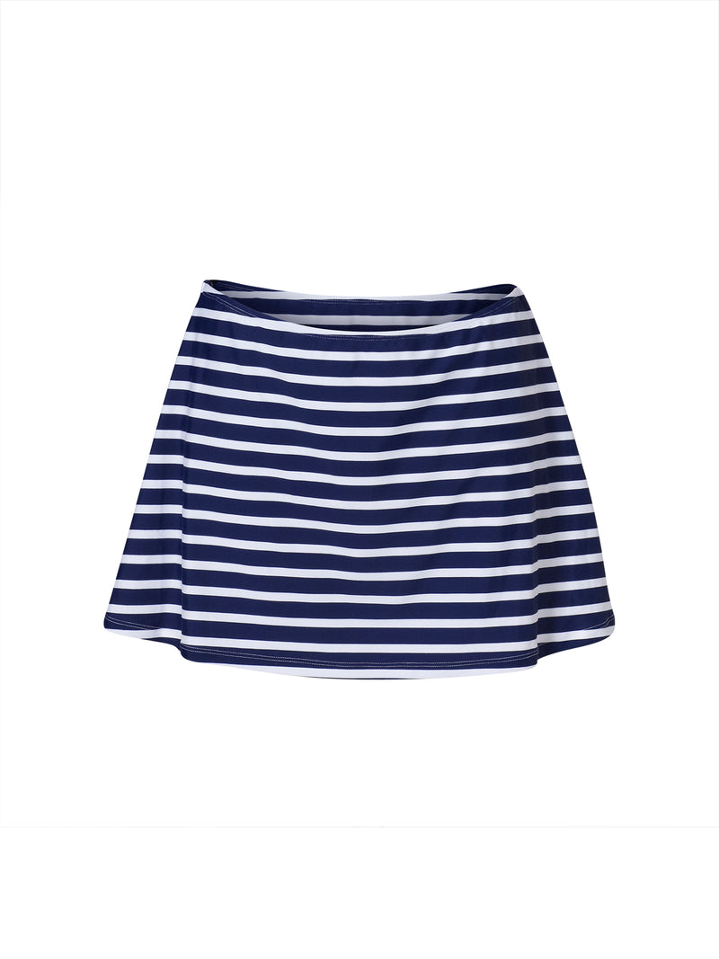 Swim Skirt - Stripe