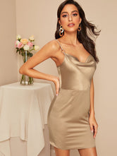 Bodycon Satin Slip Dress