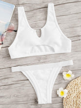 Cut-Out Top With Tanga Bottom Bikini