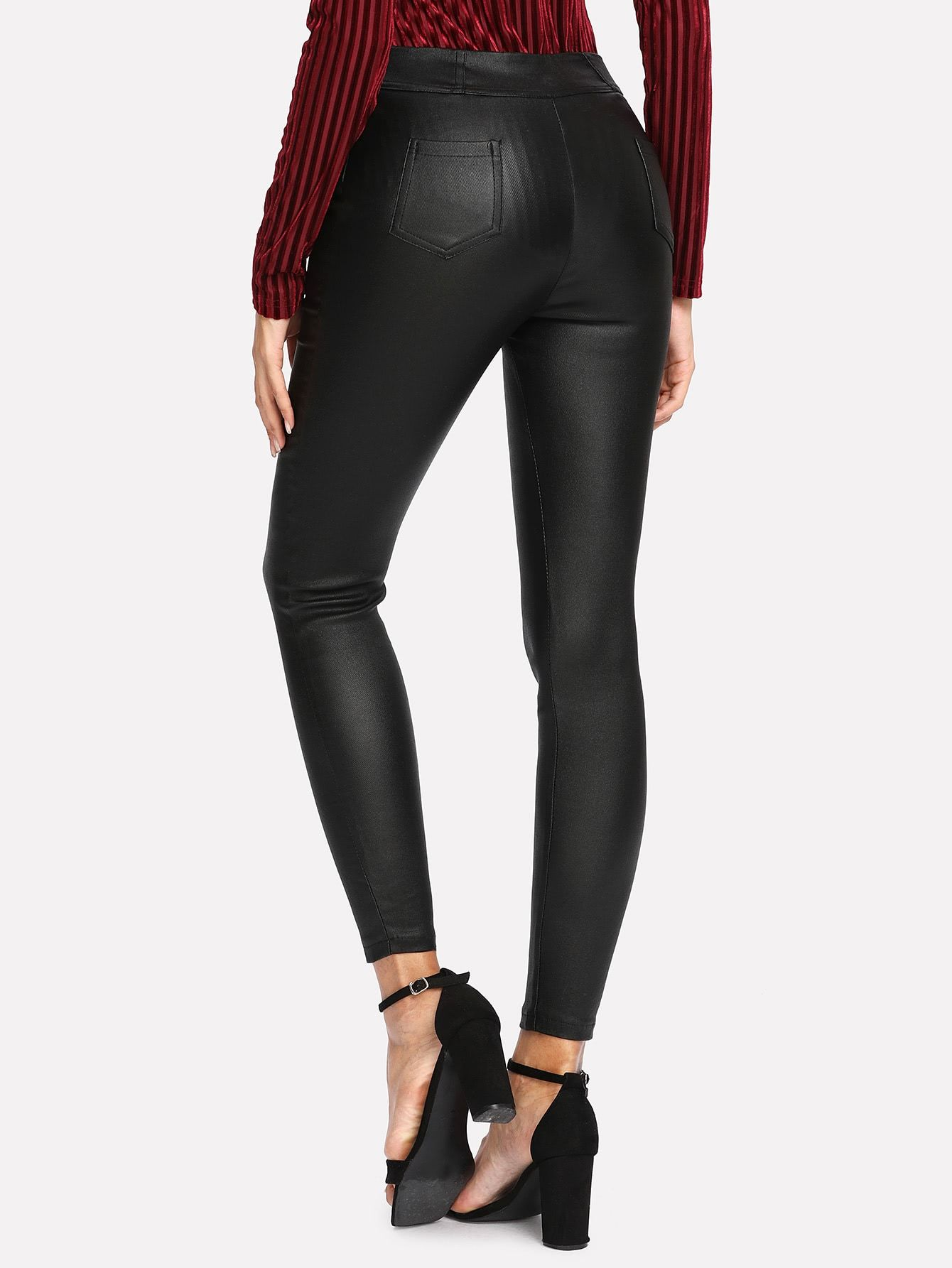 9be2338c95 Faux Leather Pants – WEARWHO