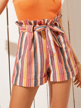Rainbow Paperbag Shorts