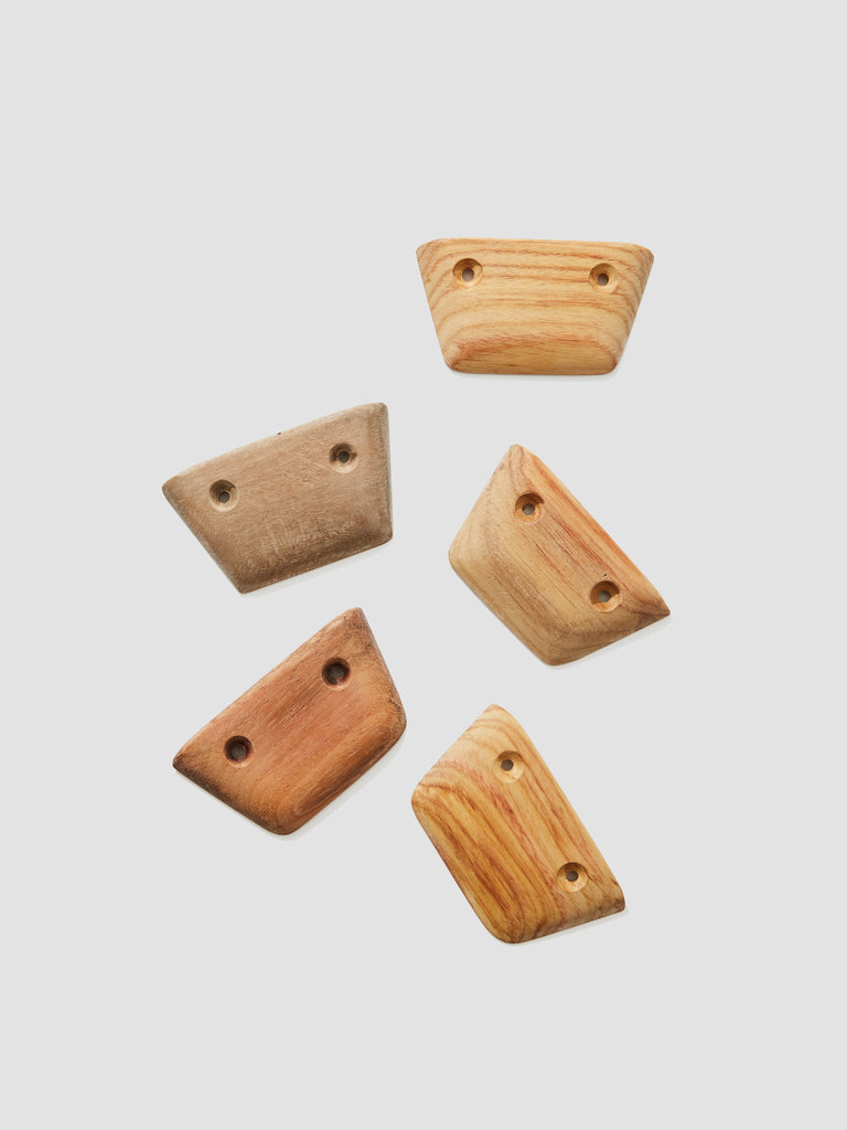 Mystery Wood Micro Climbing Holds (Set of 5)