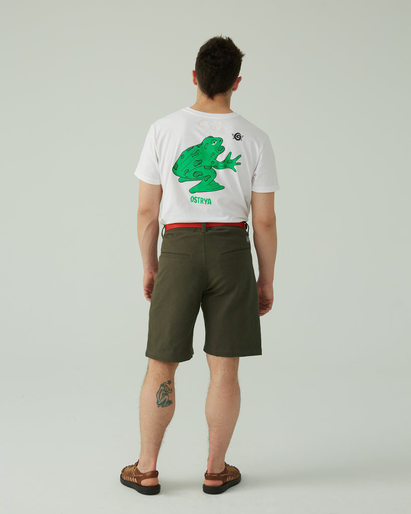 Bermuda Hemp Shorts - 10''