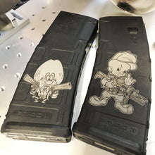 Load image into Gallery viewer, Laser engraved PMAGS