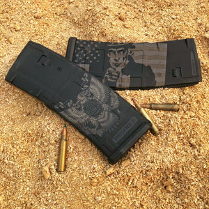Laser engraved PMAGS