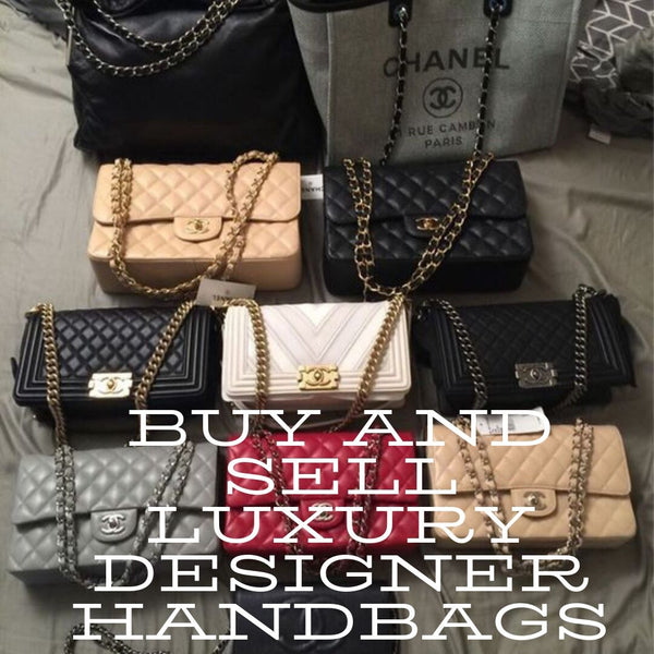 Buy and Sell Luxury Designer Handbags