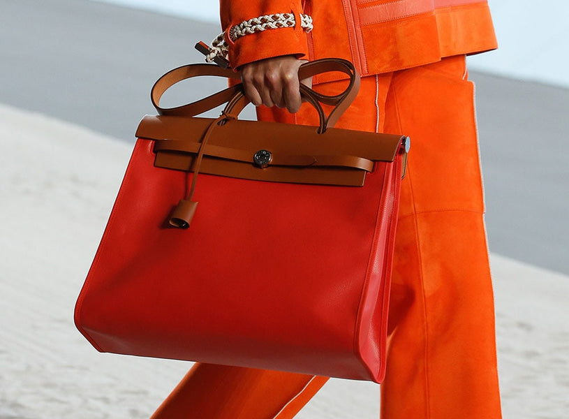 Hermès Explores Its Casual Side with Its Spring 2019 Runway Bags