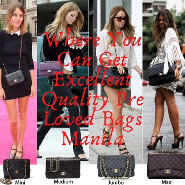 Places Where You Can Get Excellent Quality Pre Loved Bags Manila