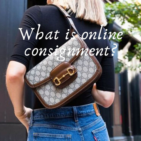What is online consignment?