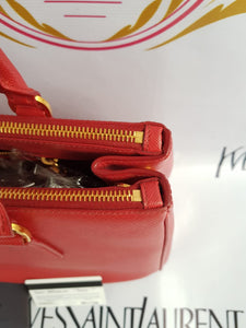 Authentic Prada Saffiano lux bag