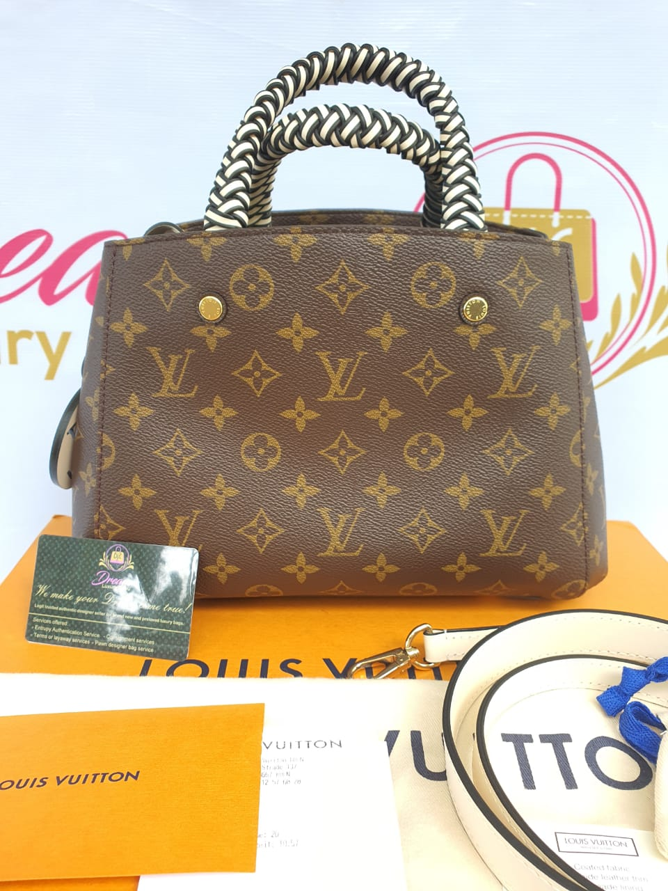 Authentic Louis Vuitton Montaigne philippines