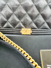Load image into Gallery viewer, Authentic Chanel boy wallet on chain luxury station ph