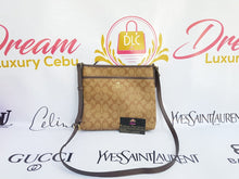 Load image into Gallery viewer, Authentic Coach messenger sling bag in signature canvas